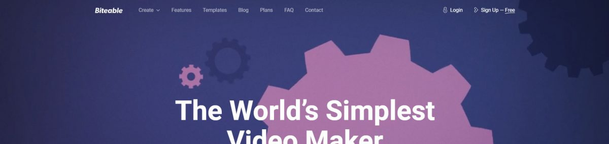 Biteable: Criar Vídeos com Templates