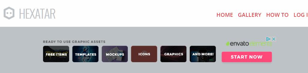 Hexatar: Criar um avatar