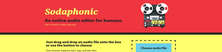 Sodaphonic Edição de Áudio