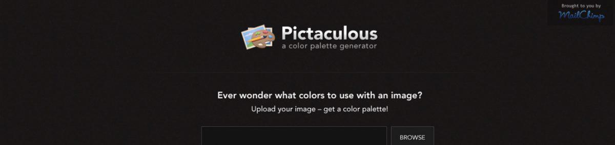 Pictaculous: Identificar as cores de uma imagem