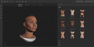 Adobe Fuse-2 Criar personagens 3D