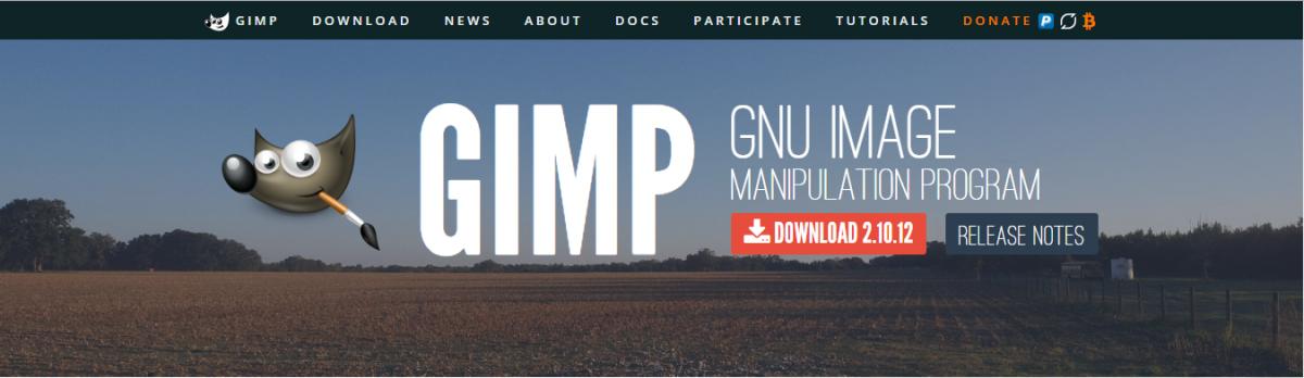 GIMP: Editor gráfico open source