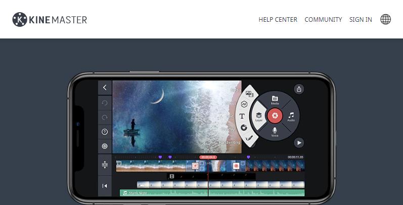 KineMaster: Editor Mobile de Vídeo