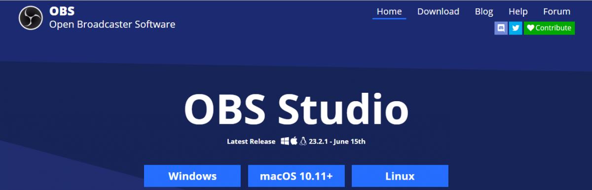 OBS: Gravação e transmissão de vídeo