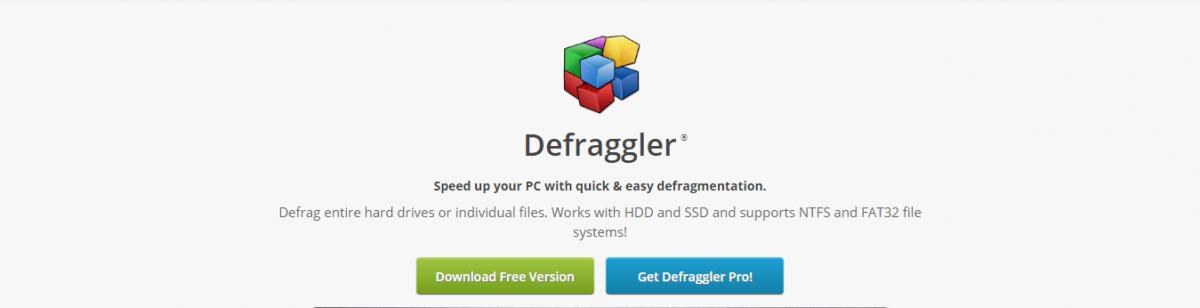 Defraggler Desfragmentar discos do computador
